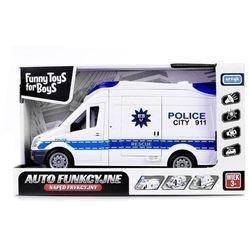 Auto Policja z dźwiękiem i światłem TFB (131141). od 0 lat