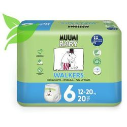 Pieluchomajtki ekologiczne 6 Junior 20 szt. 12-20 kg Muumi