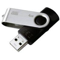 Pozostałe akcesoria komputerowe, Goodram USB flash disk, 2.0, 4GB, czarny, UTS2-0040K0R11, wsparcie OS Win 7