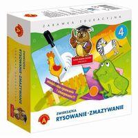 Pozostałe zabawki edukacyjne, Zabawka ALEXANDER Rysowanie-Zmazywanie Zwierzątka