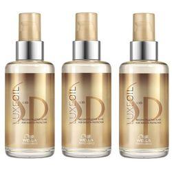 Wella SP Luxe Oil | Zestaw: elixir pielęgnujący do włosów 3x100ml