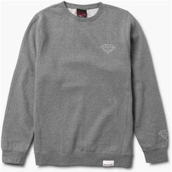 bluza DIAMOND - Tonal Chest Brilliant Crewneck Gunmetal Heather (GMHE) rozmiar: L