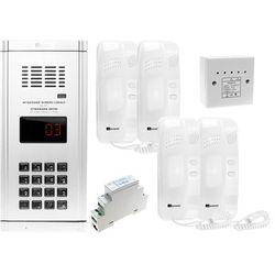 Zestaw domofonowy 4 rodzinny WL-03NL