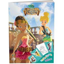 Disney Wróżki Dzwoneczek i tajemnica piratów Kolorowanka i naklejki