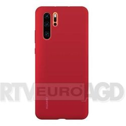 Huawei P30 Pro Silicone Cover - Bright Red