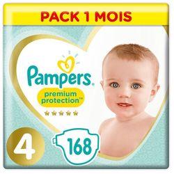 PAMPERS Premium Care 4 MAXI 168 szt. (8-14 kg) ZAPAS NA MIESIĄC - pieluchy jednorazowe