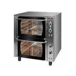Piekarnik elektryczny z termoobiegiem 2-komorowy (6xGN2/1) | KROMET 000.PE-2/T