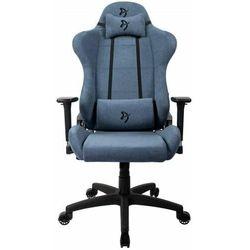 Arozzi Fotel Torretta Soft Fabric, niebieski (TORRETTA-SFB-ASH)