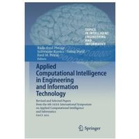 Informatyka, Applied Computational Intelligence in Engineering and Information Technology