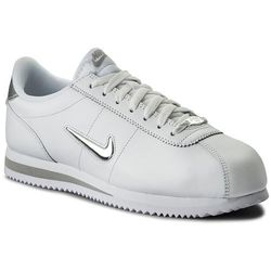 Buty NIKE - Cortez Basic Jewel 833238 101 White/Metallic Silver