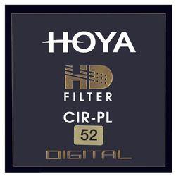 HOYA FILTR POLARYZACYJNY PL-CIR HD 52 mm ⚠️ DOSTĘPNY - wysyłka 24H ⚠️