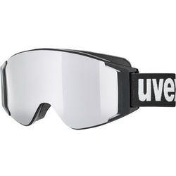 UVEX g.gl 3000 TOP Gogle, black/polavision-fullmirror silver 2019 Gogle narciarskie