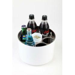 Konferencyjny schładzacz na 6 butelek | śr. 230x(H)150mm | różne kolory