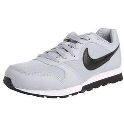 Nike Sportswear Trampki 'MD Runner 2' szary / czarny