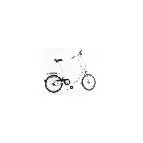 Pozostałe rowery, ALUMINIOWY ROWER SKŁADANY SKŁADAK NISKA RAMA MIFA 7 BIEGÓW Nexus SHIMANO prądnica