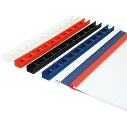 Listwy do bindowania zatrzaskowe Greenbindery Argo, czarne, 20 mm, 50 sztuk, oprawa do 180 kartek - Autoryzowana dystrybucja - Szybka dostawa - Tel.(34)366-72-72 - sklep@solokolos.pl