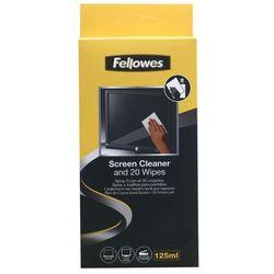 Zestaw chusteczki + płyn czyszczący Fellowes
