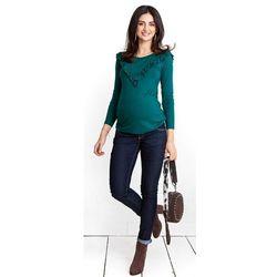 ubrania ciążowe Jeansowe spodnie ciążowe Simple Happymum Piękny Brzuszek
