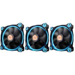 Thermaltake Wentylator Riing 12 LED, 120mm, 3 sztuki, niebieski (CL-F055-PL12BU-A) Darmowy odbiór w 21 miastach!