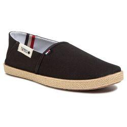 Espadryle TOMMY JEANS - Summer Shoe EM0EM00423 Black BDS
