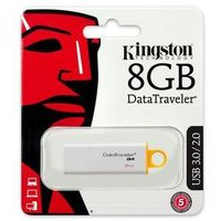 Flashdrive, Pamięć KINGSTON DataTraveler G4 Micro USB 3.0 (DTIG4) 8 GB