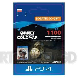 Call of Duty: Black Ops Cold War - 1100 punktów [kod aktywacyjny] PS4