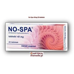 No-Spa 20 tabletek