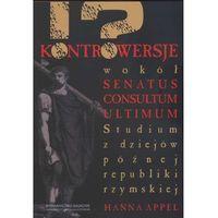 Historia, Kontrowersje wokół senatus consultum ultimum (opr. miękka)
