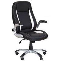 Fotele, Fotel gabinetowy halmar CODY czarny