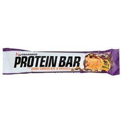 Nutramino Baton proteinowy- Ciemna czekolada- pomarańcza, 64g - Ciemna czekolada - Pomarańcza