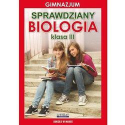 Sprawdziany Biologia 3 (opr. miękka)