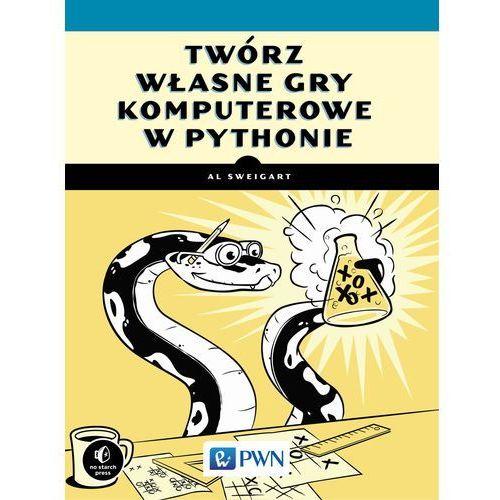 Książki dla dzieci, Twórz własne gry komputerowe w Pythonie (opr. miękka)