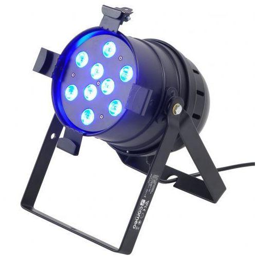 Zestawy i sprzęt DJ, Cameo PAR 56 CAN - 9 x 3 W TRI Colour LED PAR Can RGB w czarnej obudowie