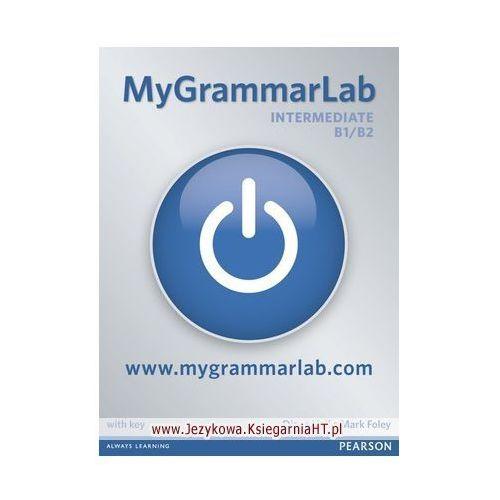 Książki do nauki języka, MyGrammarLab Intermediate, Student&#39s Book (podręcznik) plus MyLab for self study (opr. miękka)