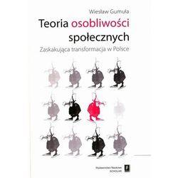Teoria osobliwości społecznych - Wiesław Gumuła (opr. miękka)