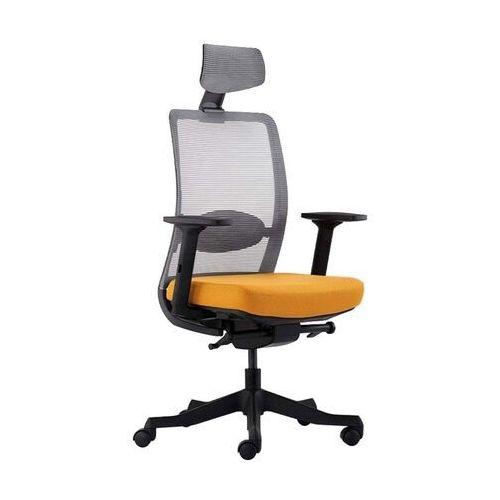 Fotele i krzesła biurowe, Fotel Unique Anggun - 17 KOLORÓW (Tkanina BL) wysuw siedziska - ZŁAP RABAT NIESPODZIANKA
