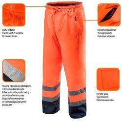 Spodnie robocze wodoodporne pomarańczowe XXL NEO