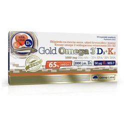 Olimp Gold Omega 3 D3 + K2 30 kaps.