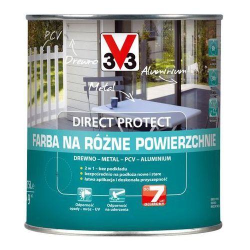 Farby, Farba na różne powierzchnie V33 Direct Protect metalowy antracyt 0,75 l