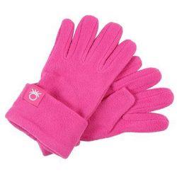 Benetton GLOVES BASIC Rękawiczki pięciopalcowe pink