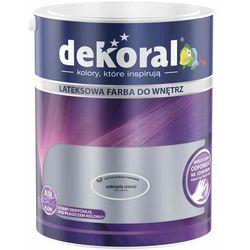 Farba Lateksowa Akrylit W Kolor Srebrzysta Szarość 5l Dekoral