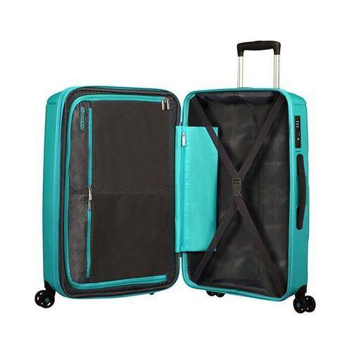 Torby i walizki, American Tourister Sunside duża poszerzana walizka 77 cm / turkusowa - Aero Turquoise ZAPISZ SIĘ DO NASZEGO NEWSLETTERA, A OTRZYMASZ VOUCHER Z 15% ZNIŻKĄ