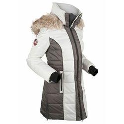 Krótki płaszcz outdoorowy bonprix srebrno-szary