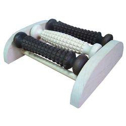 Aparat do masażu stóp drewniany 3 - rolkowy 1130A