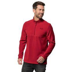 Męska bluza polarowa GECKO red lacquer - XL