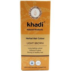 KHADI jasny brąz henna do włosów