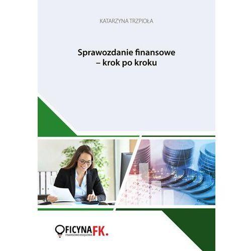 E-booki, Sprawozdanie finansowe krok po kroku