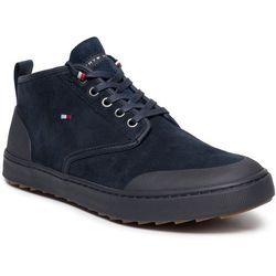 Sneakersy TOMMY HILFIGER - Core Corporate Winter Chukka FM0FM02377 Midnight 403
