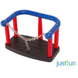 Huśtawka kubełkowa LUX z łańcuszkiem na publiczny plac zabaw
