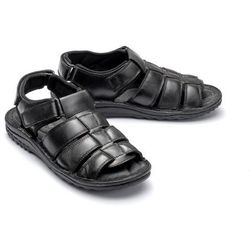 COMFORTABEL 610248-1 schwarz, sandały męskie